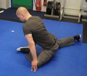 Hip external rotation Chris Burrows Personal Trainer